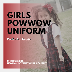 Girls PreK-4th Grade Powwow Uniform