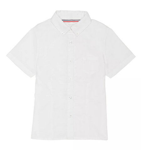 Oxford | FT Girls SS White Oxford