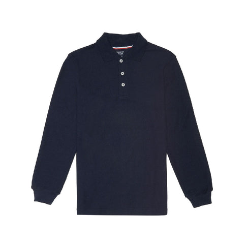 Polo Shirt L/S | FT Navy, Unisex Youth
