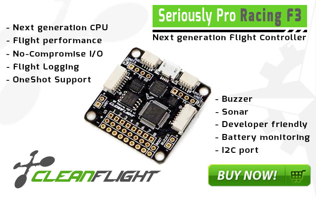 SP RACING F3 FLIGHT CONTROLLER