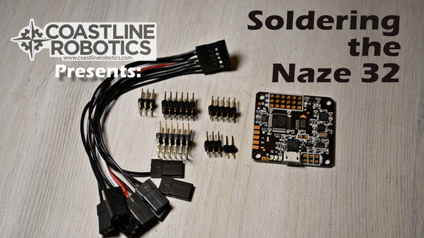 How to solder a Naze 32