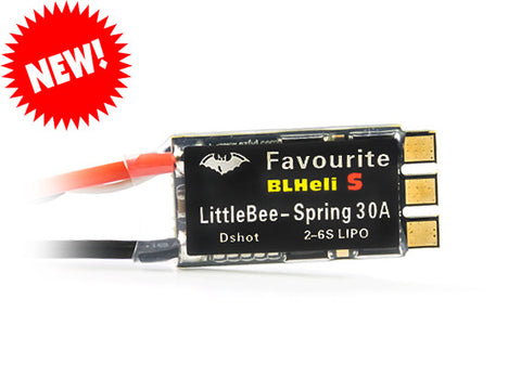 littlebee 30a spring esc for fpv drone racing