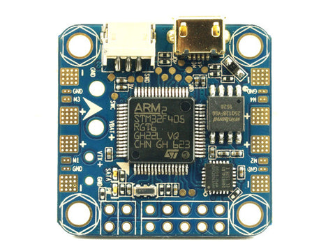 C-Robotics Mini F4 Acro Flight controller | 25mm x 25mm mounting holes