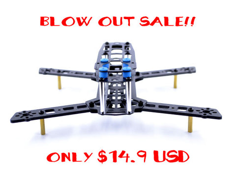 Blade 250. Ultralight FPV racing frame