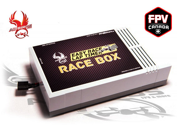 Airbirds VTX Based Timing System | Race Box for 8 pilots