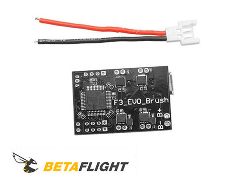 SP Racing F3 brushed flight controller for Micro FPV racing drone.