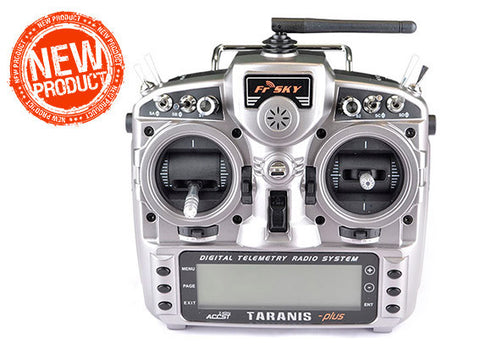 FrSky Taranis X9D Plus 2.4GHz ACCST Radio Combo with alucase (Mode 2)