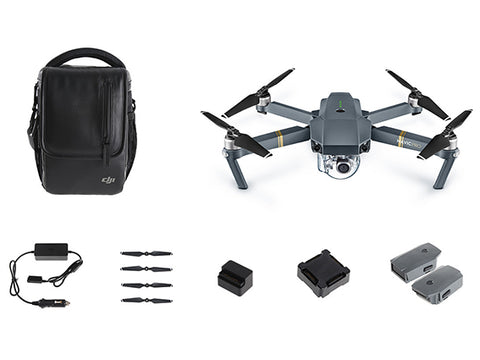 DJI Mavic Pro Fly More Combo - Free Shipping