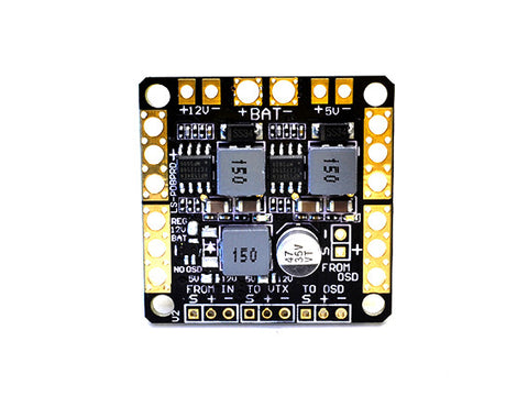 Power Distribution Board for F3/F4 flight controllers | 5v /12V filters.