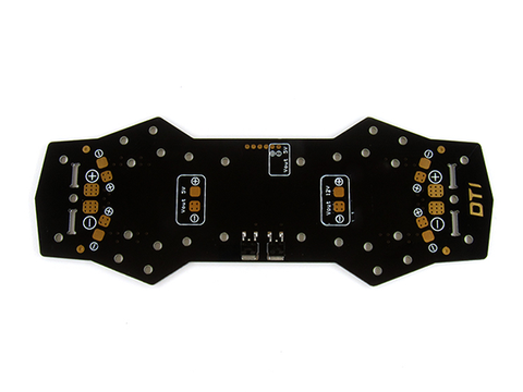 ZMR250 FPV Upgrade. Power Distribution Board Integrated