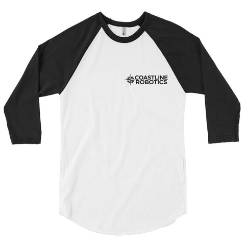 Coastline Robotics logo Baseball T-shirt