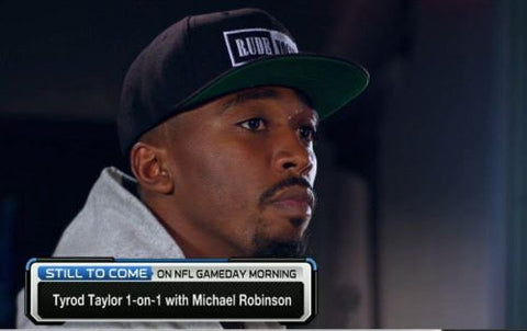 LA Chargers Tyrod Taylor in the Rude Vogue Snapback Hat