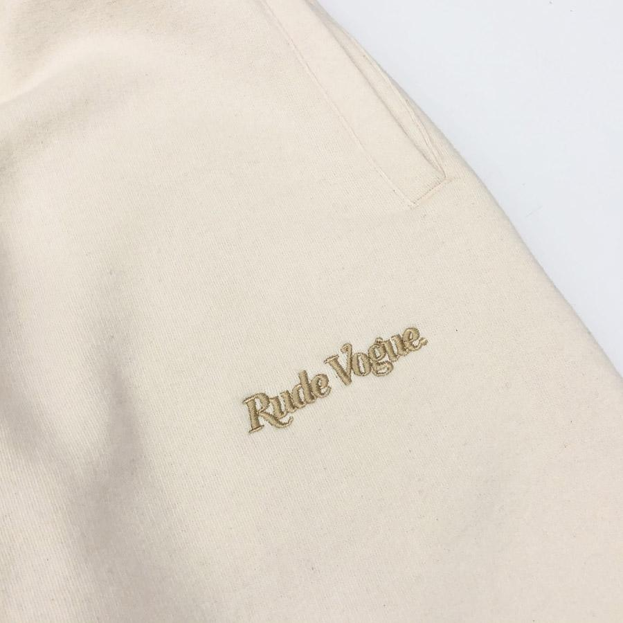 RUDE VOGUE SWEATPANT - CREAM/GOLD Hoodie RudeVogue