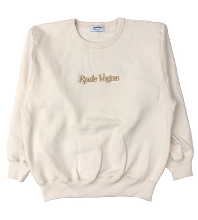 RUDE VOGUE SWEATSHIRT - CREAM/GOLD Hoodie RudeVogue