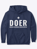 DOER STAR HOODIE - MAKEMEAVAILABLE.COM