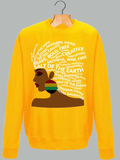 HER CROWNING GLORY SWEATSHIRT - MAKEMEAVAILABLE.COM