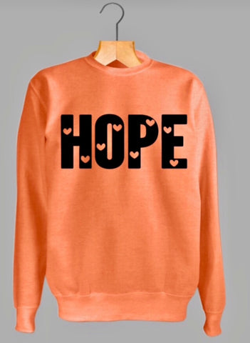 HEARTS OF HOPE Sweatshirt - MAKEMEAVAILABLE.COM