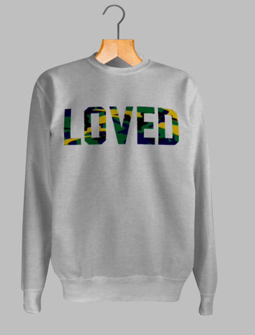 LOVED CAMEO Sweatshirt - MAKEMEAVAILABLE.COM