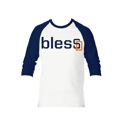 Baseball 3/4 Sleeve blesSD