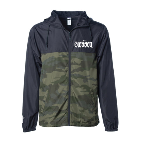 BLESSED Camo Windbreaker