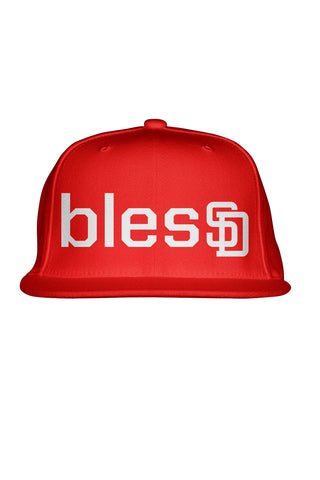 Red blesSD Premium Snapback
