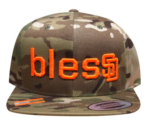 Light Multi Camo blesSD Hat