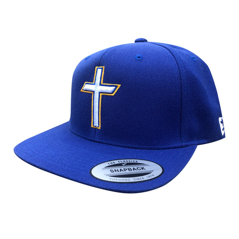 "Royal ""Cross"" Premium Snapback"