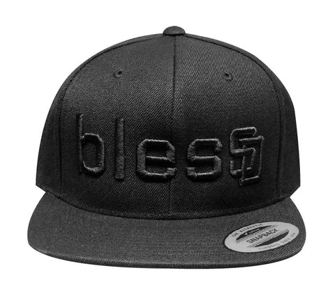 Black On Black blesSD Hat