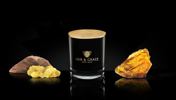 Oudh - Black & gold candle