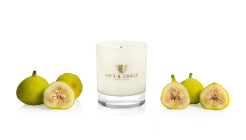 Green figs - Home candle