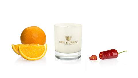 Candle - Orange & Chilli - Home Candle