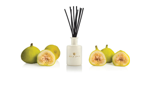 Green figs - Reed diffuser