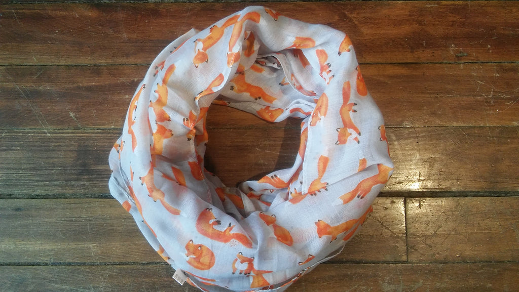 Lightweight Fox Scarf