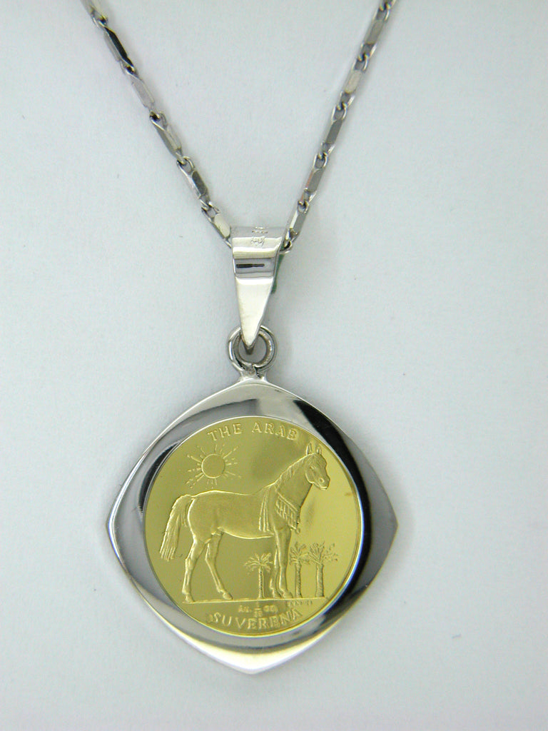 Mini Coin Pendant