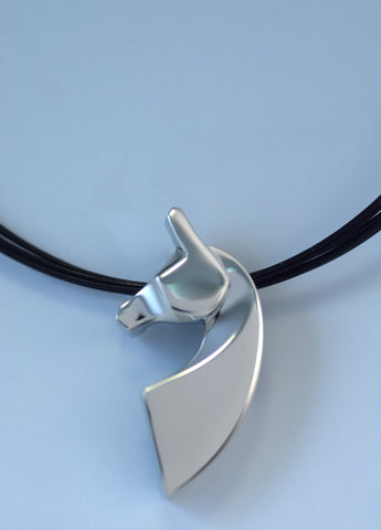 The Classic© Single Pendant in Sterling Silver or Stainless Steel