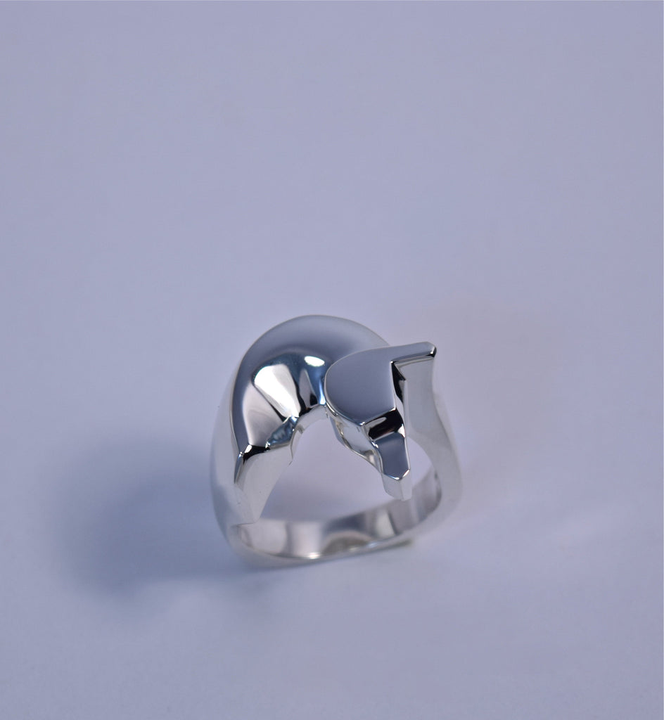 The Classic© Horse Ring in Sterling Silver