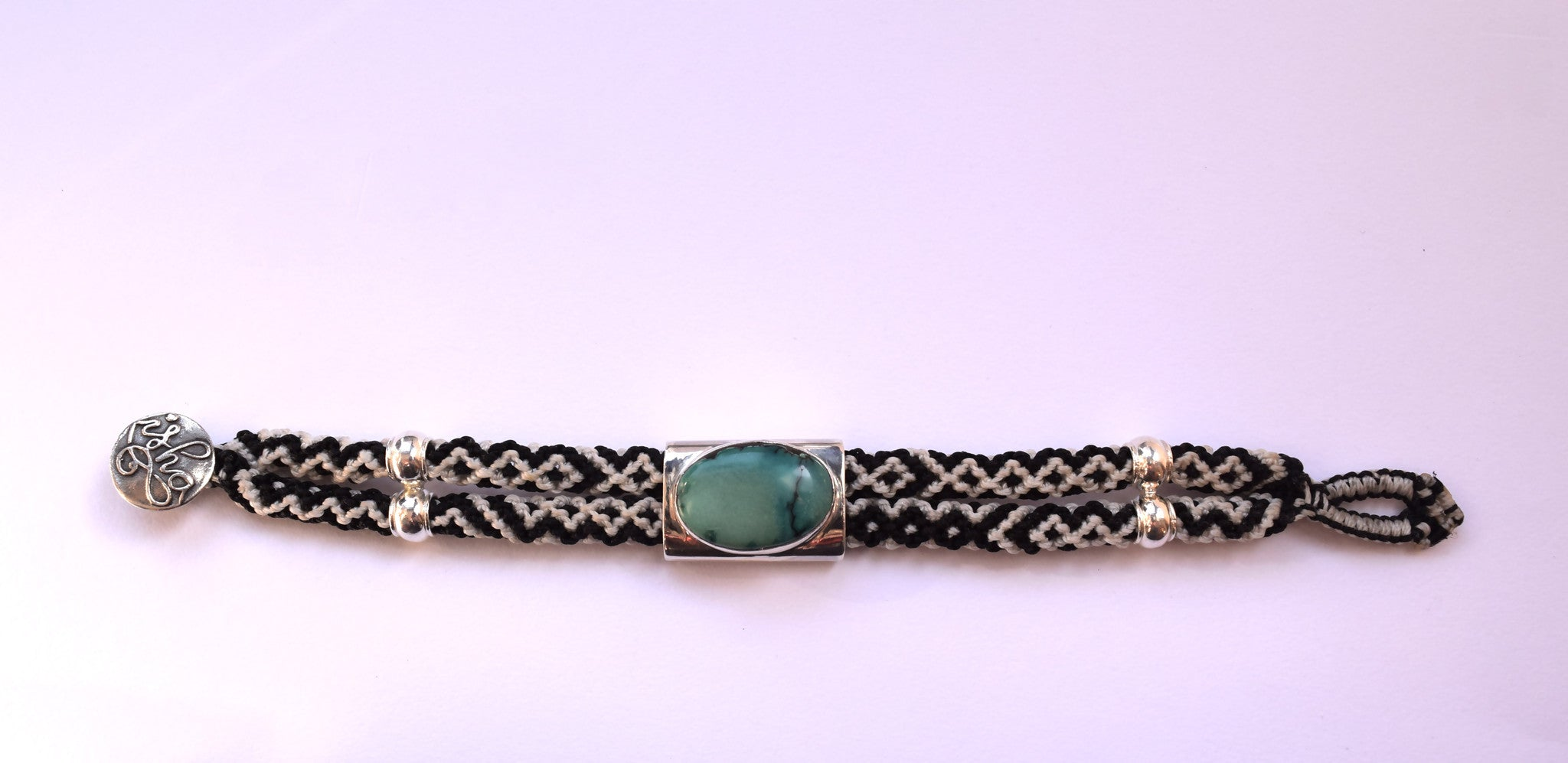 wild bracelet stone sage designs whimsy product dsc and tassle green