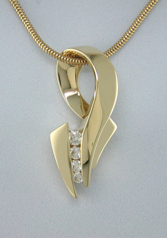 The Diamond Dance Pendant