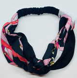 Satin Headbands in Assorted Colors.