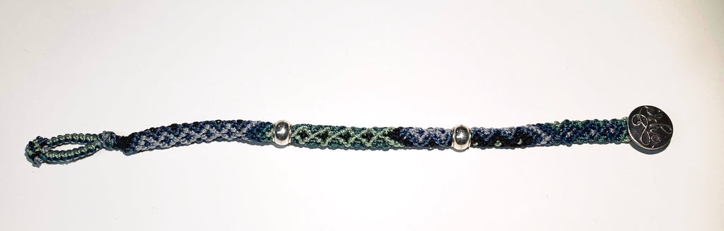 Isha Elafi Rope Bracelet Blues,Greens