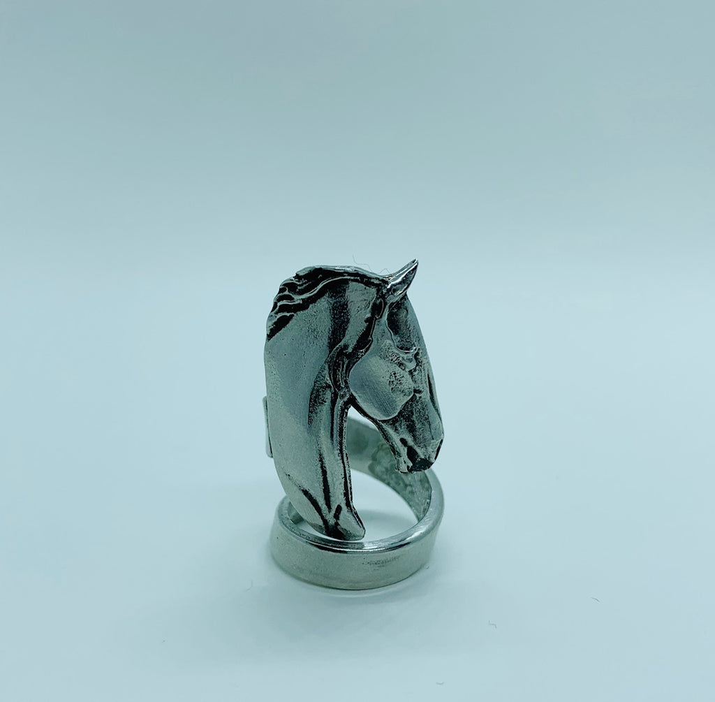 Warmblood Silver - Pewter Adjustable Ring