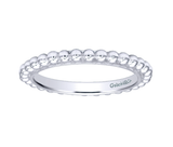 Gabriel & Co. Sterling Silver Beaded Stackable Ring