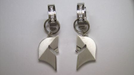 The Statement© in Leverback or Dangle Earrings