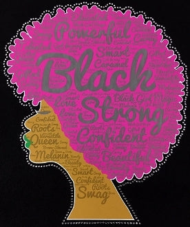 Powerful Black Strong T-Shirt