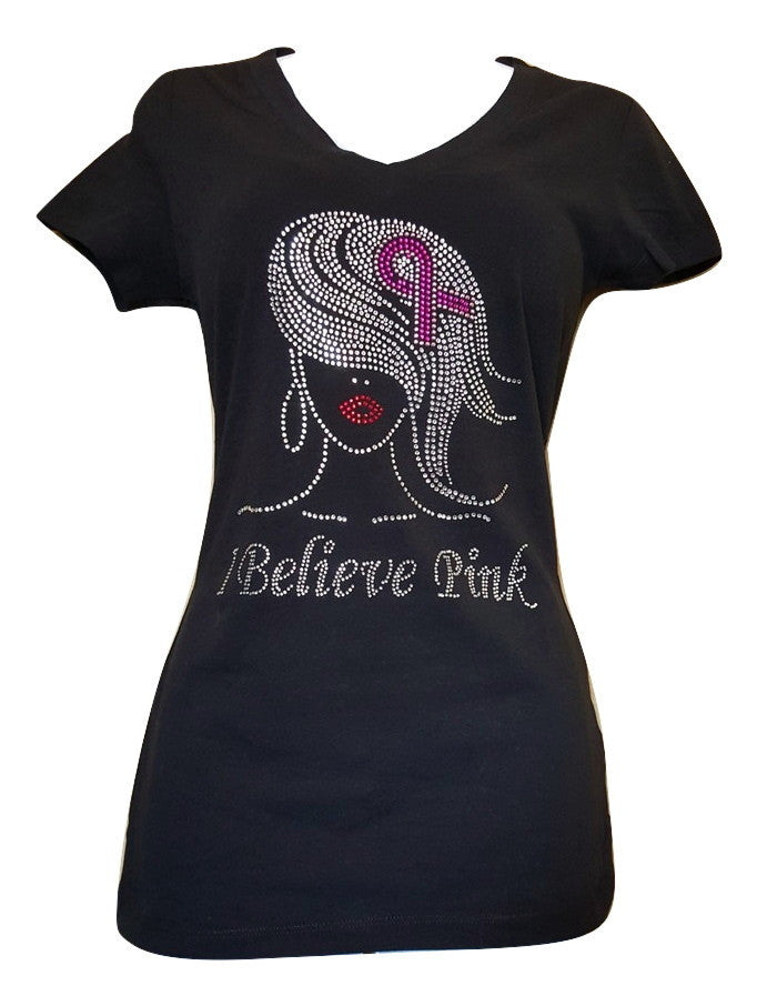 I Believe Pink T-Shirt - ShimmerMe.org