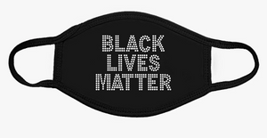 Face Mask Black Lives Matter Rhinestone designs