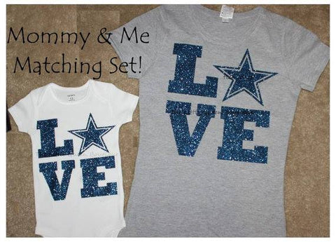 Love Star Mommy & Me t-shirt