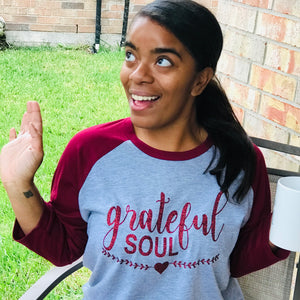 qrateful Soul Thanksgiving T-Shirt