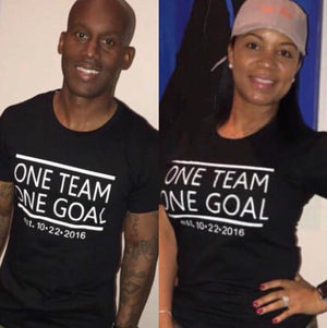 One Team One Goal T-Shirt Set