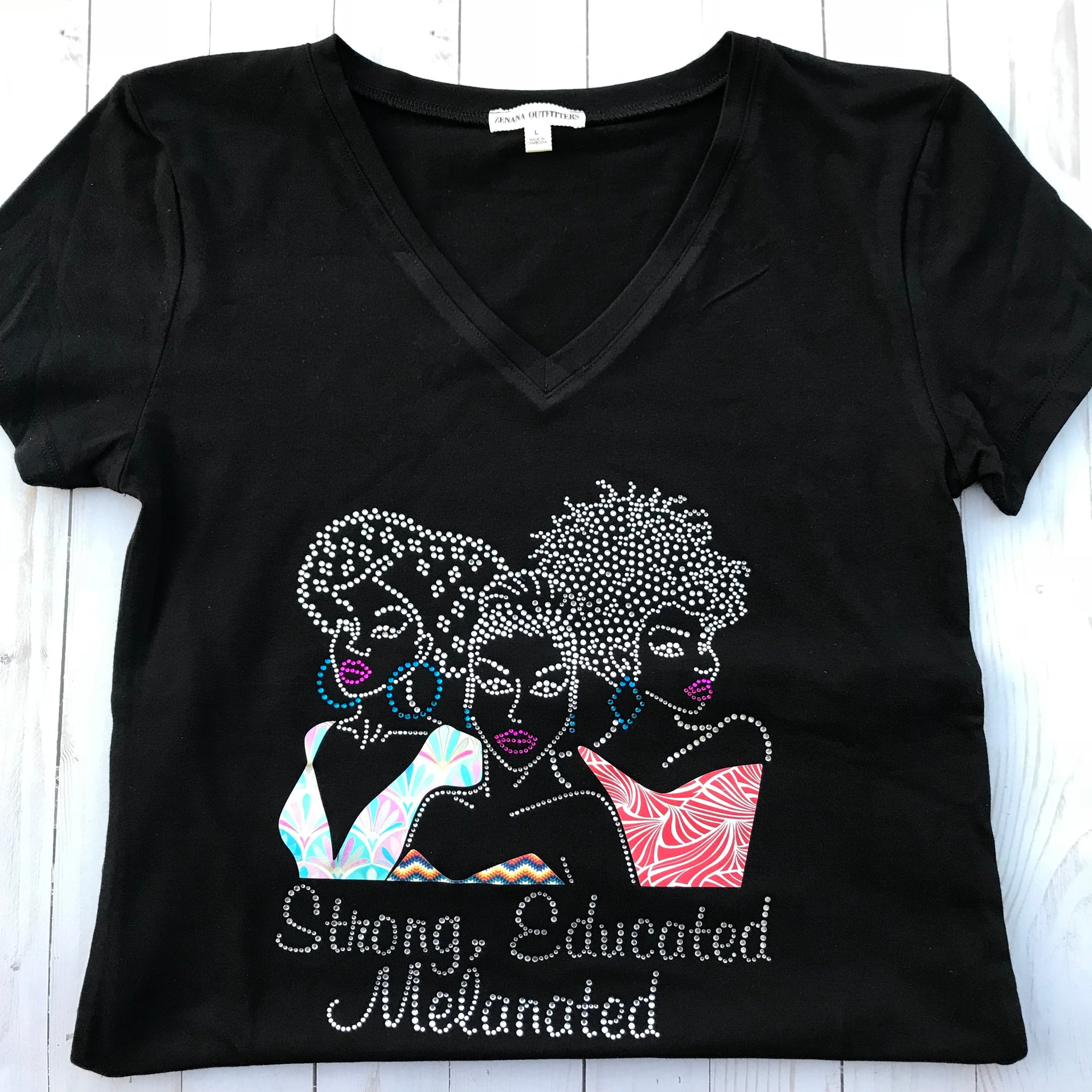 Strong, Educated Melanated T-Shirt